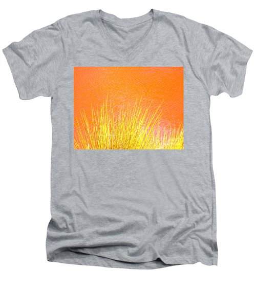 Resolute Reeds Men's V-Neck T-Shirt