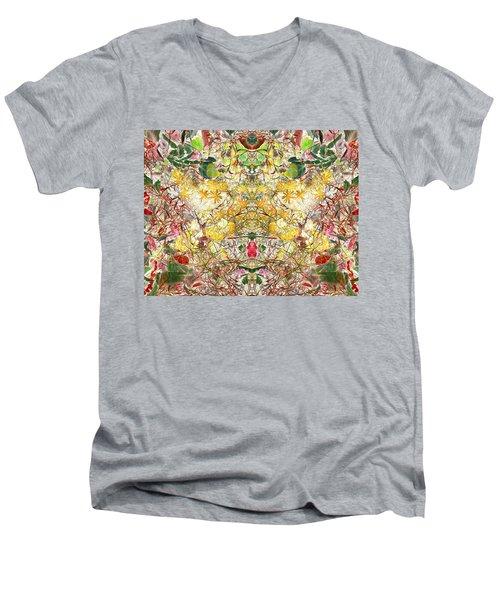 Responding To All Men's V-Neck T-Shirt