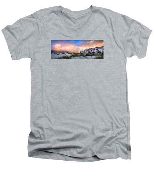 Rest And Relaxation Men's V-Neck T-Shirt by David Smith