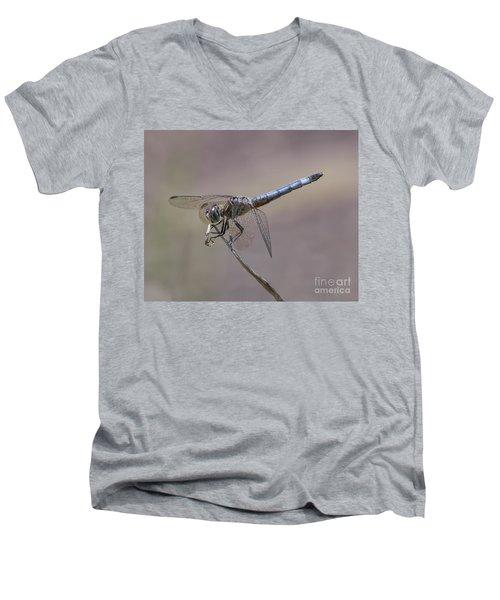 Resting My Wings Men's V-Neck T-Shirt by Liz Masoner