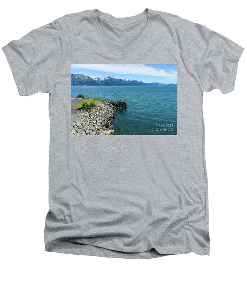 Resurrection Bay Men's V-Neck T-Shirt