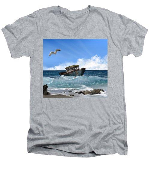 Retiring From The Fleet Men's V-Neck T-Shirt