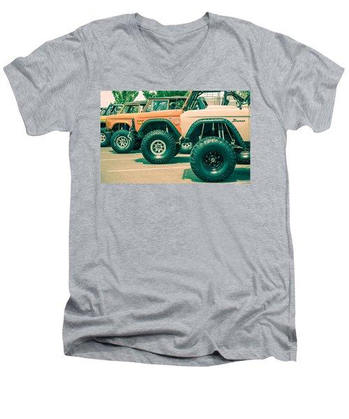 Retro Bronco Heaven Men's V-Neck T-Shirt
