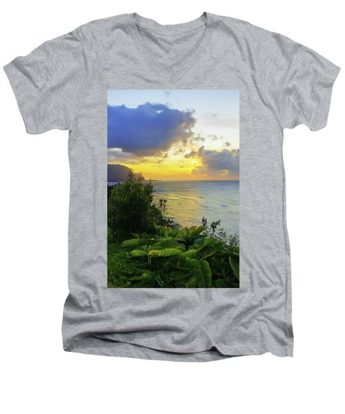 Men's V-Neck T-Shirt featuring the photograph Return by Chad Dutson