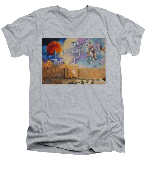 Return Of The King Men's V-Neck T-Shirt