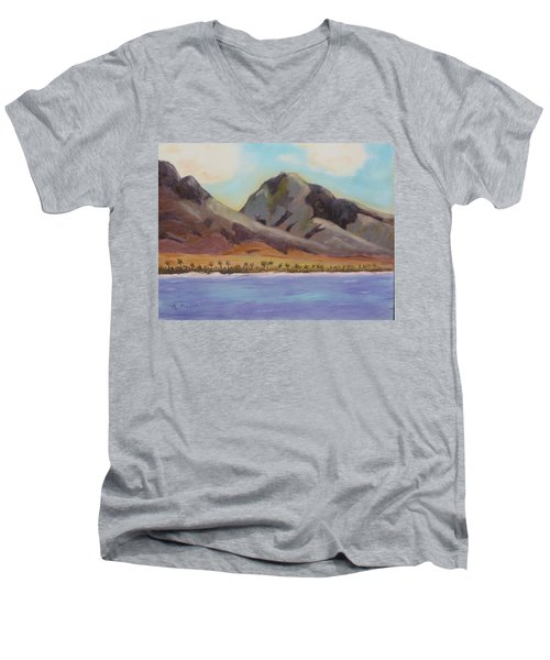 Return To Maui Men's V-Neck T-Shirt