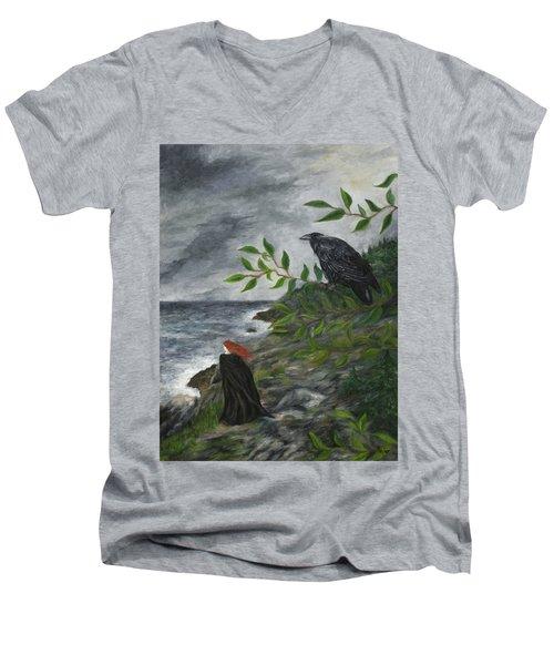 Rhinne And Nightshade Men's V-Neck T-Shirt
