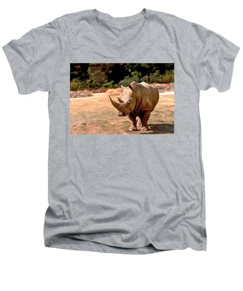 Rhino Men's V-Neck T-Shirt