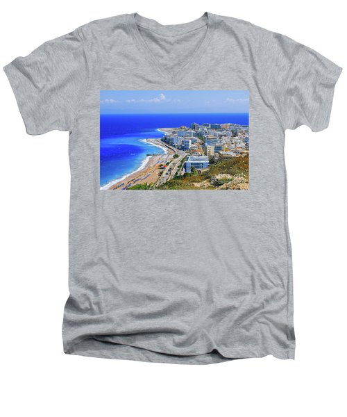 Rhodes Men's V-Neck T-Shirt