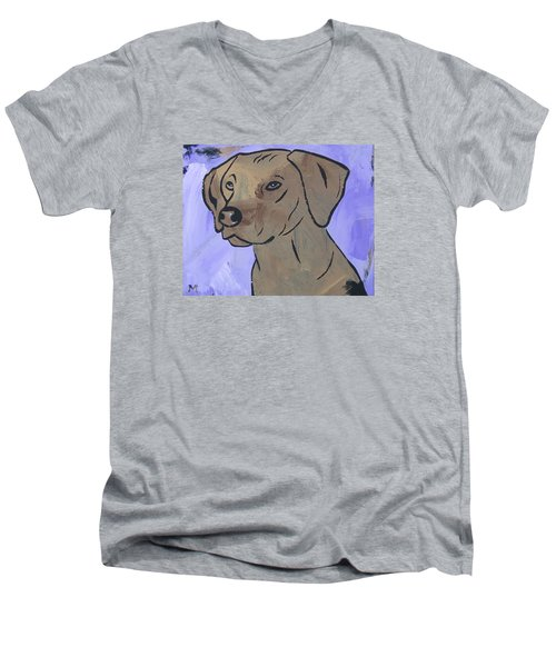 Rhodesian Ridgeback Men's V-Neck T-Shirt