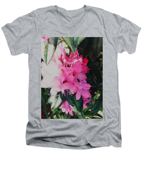 Rhodies Men's V-Neck T-Shirt