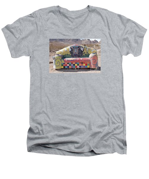 Rhyolite Sofa Men's V-Neck T-Shirt