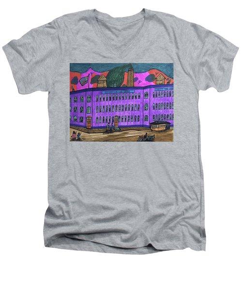 Richardson Shoe Company. Men's V-Neck T-Shirt