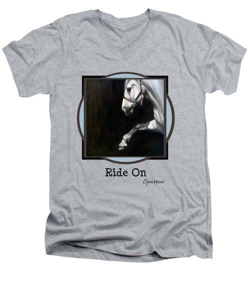 Ride On Men's V-Neck T-Shirt