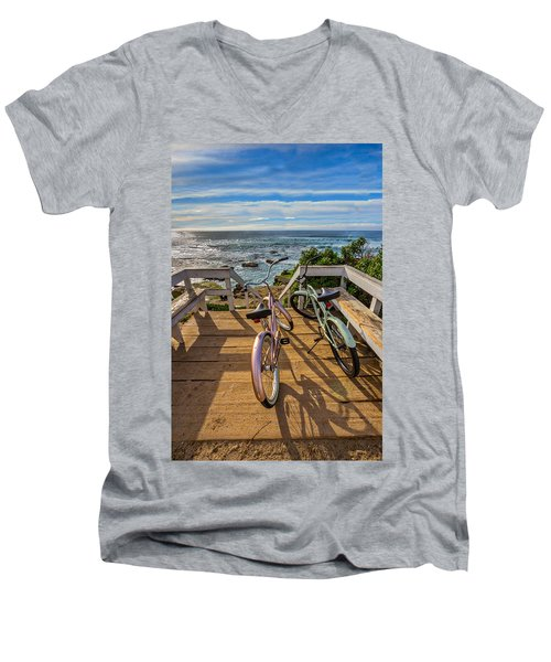 Ride With Me To The Beach Men's V-Neck T-Shirt