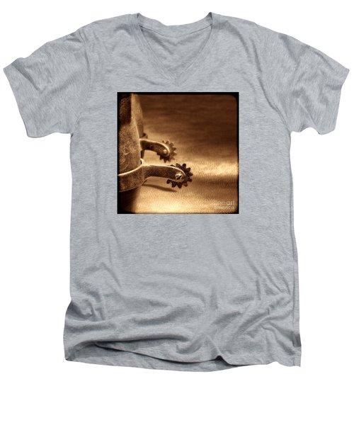 Riding Spurs Men's V-Neck T-Shirt