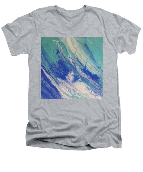 Riding The Wave Men's V-Neck T-Shirt