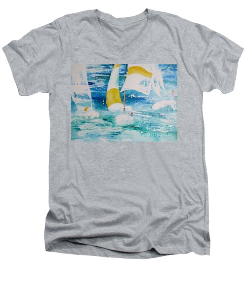 Riding The Wind Men's V-Neck T-Shirt