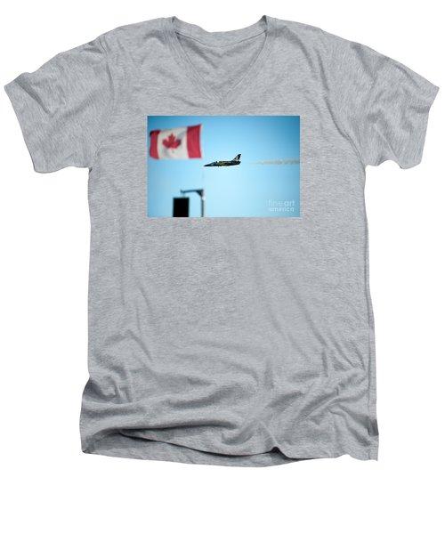 Rightside Up Men's V-Neck T-Shirt