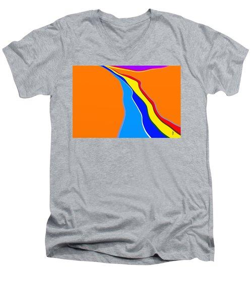 Rill Men's V-Neck T-Shirt