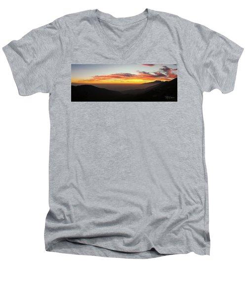 Rim Of The World Men's V-Neck T-Shirt
