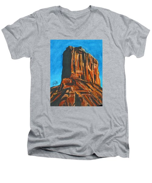 Rim Rock Men's V-Neck T-Shirt