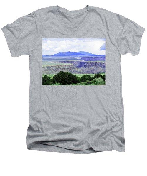 Rio Grande Gorge Men's V-Neck T-Shirt