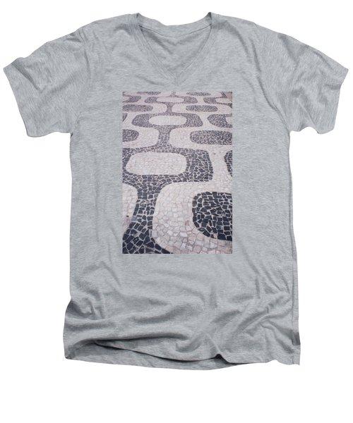 Rio Sidewalk Men's V-Neck T-Shirt