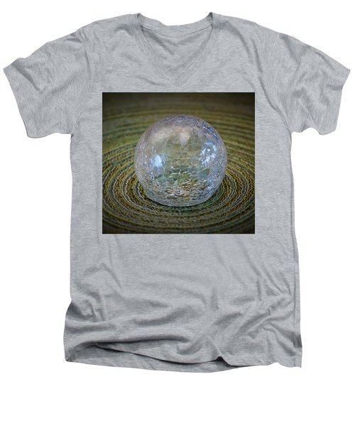 Men's V-Neck T-Shirt featuring the photograph Ripple Effect by John Glass