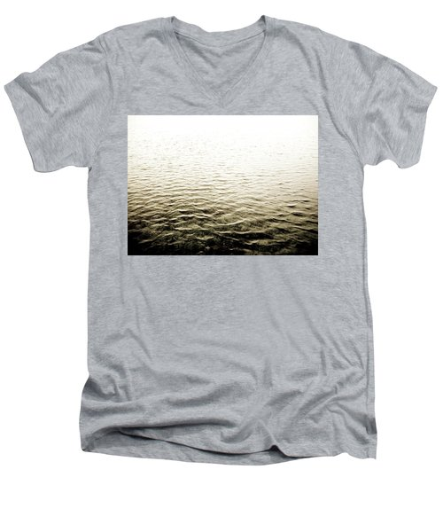 Ripples Men's V-Neck T-Shirt