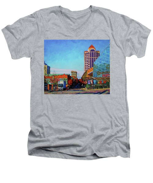 Rise And Shine - Roanoke Virginia Morning Men's V-Neck T-Shirt