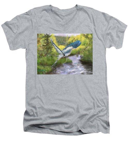 Rising Free Men's V-Neck T-Shirt