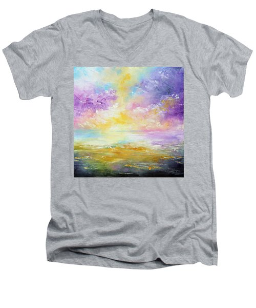 Rising Joy Men's V-Neck T-Shirt