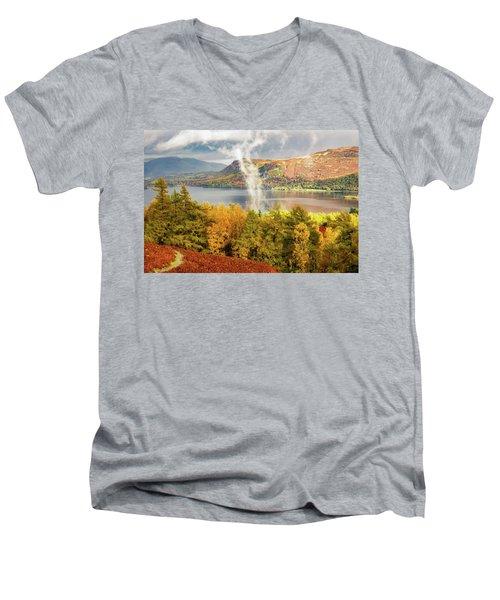 Rising Mist Men's V-Neck T-Shirt