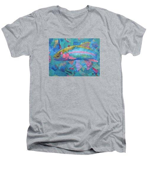 River Bow Men's V-Neck T-Shirt