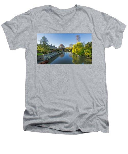 River Cam Men's V-Neck T-Shirt