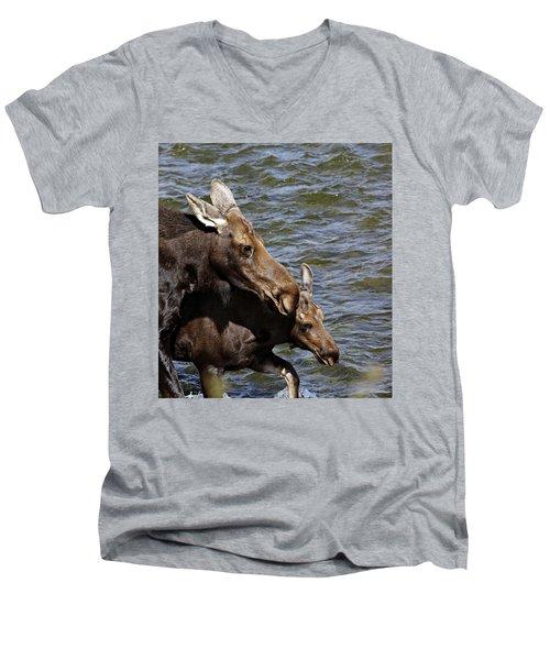 River Crossing Men's V-Neck T-Shirt