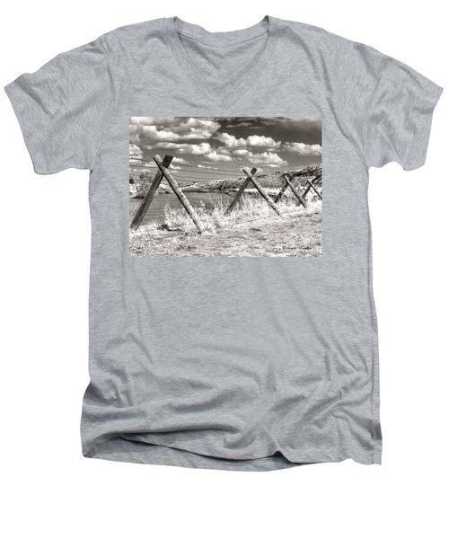 River Drama Men's V-Neck T-Shirt