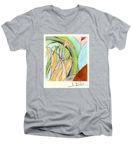 River Grass Men's V-Neck T-Shirt