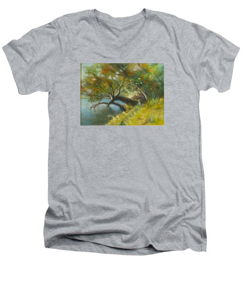 River Reverie Men's V-Neck T-Shirt