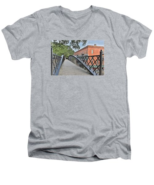 River Street Connection Men's V-Neck T-Shirt