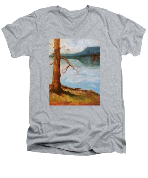 View Of Nebo Men's V-Neck T-Shirt