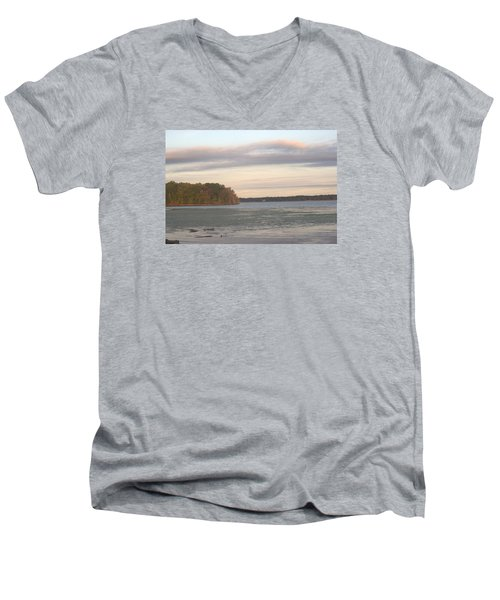 River View Men's V-Neck T-Shirt