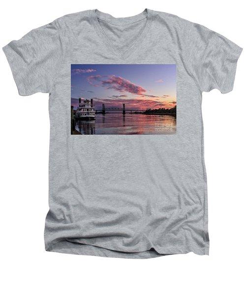 Cape Fear Riverboat Men's V-Neck T-Shirt