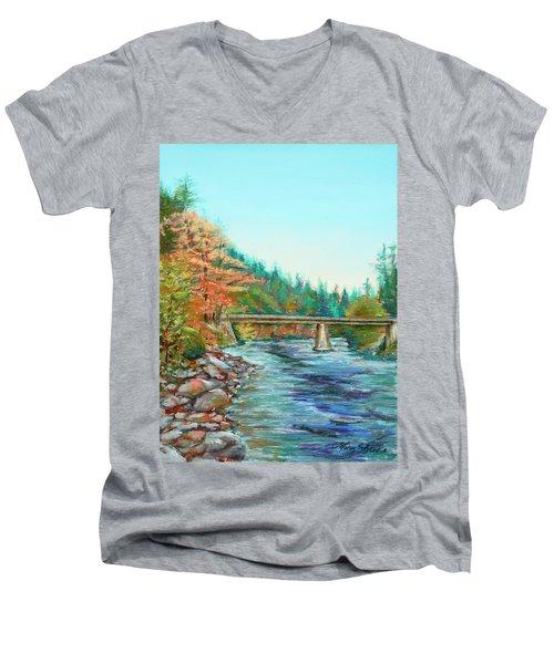 Riverdance Men's V-Neck T-Shirt