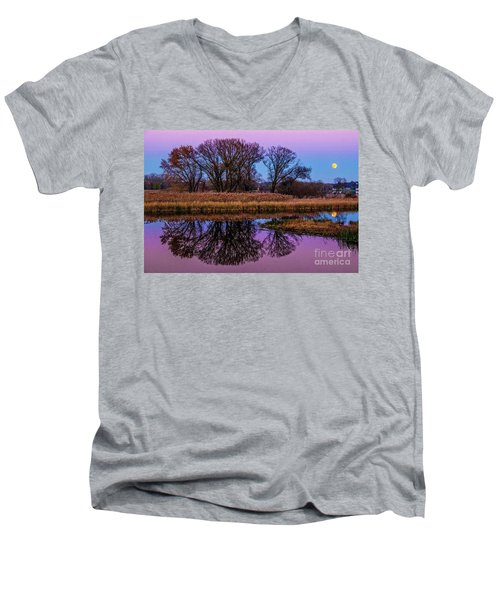 Riverglow Men's V-Neck T-Shirt