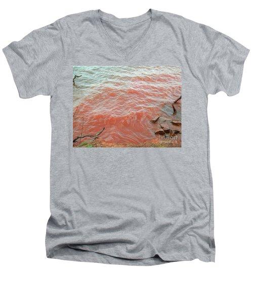 Rivers Of Blood Revelation Men's V-Neck T-Shirt