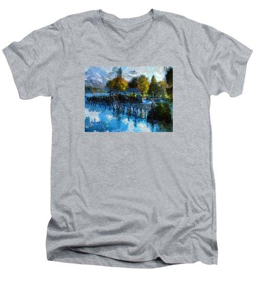 Riverview Men's V-Neck T-Shirt