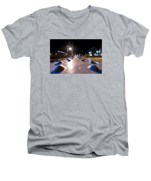 Rivets Men's V-Neck T-Shirt