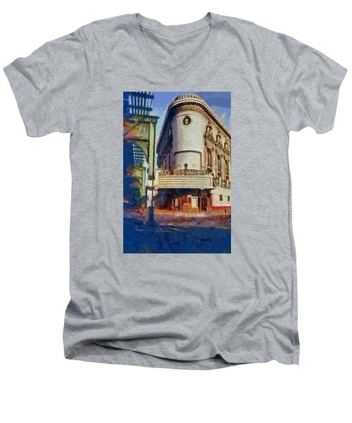 Rko Bushwick Theater 1974 Men's V-Neck T-Shirt